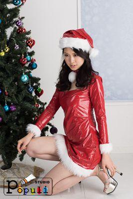 優奈 サンタのコスチューム