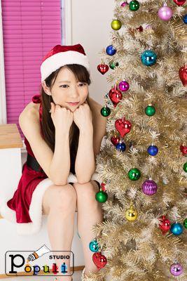 千裕 名古屋撮影会 ゴールド クリスマスツリー