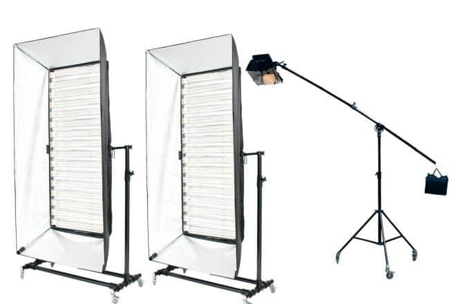 Dスタジオの照明機材