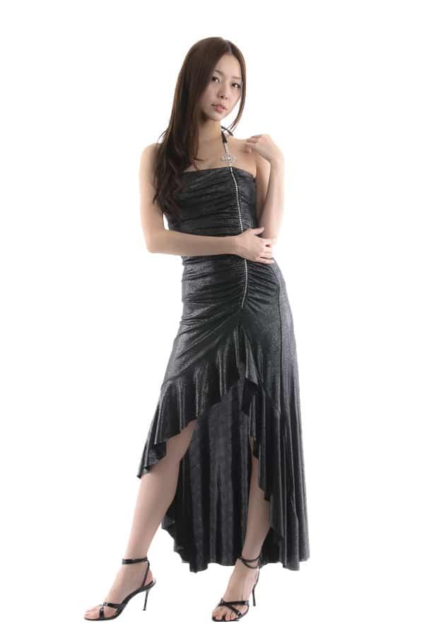 ロングドレス ブラック2